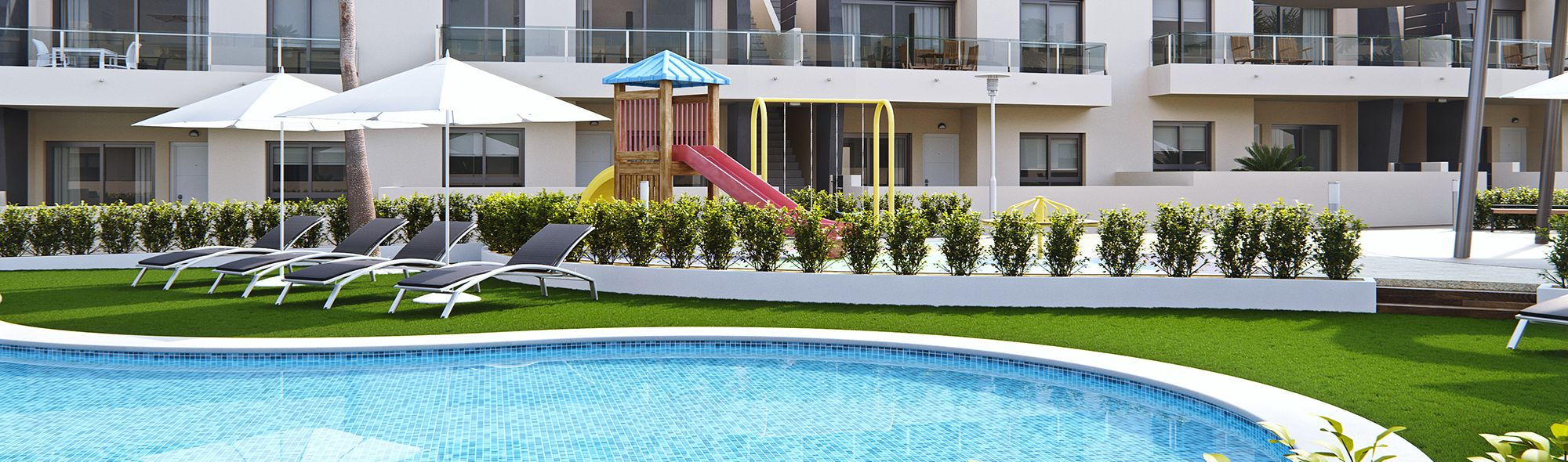 New Build Apartments in Different Areas of Costa Blanca, Spain