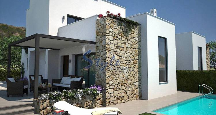 New detached villa for sale in Guardamar del Segura, Costa Blanca, Spain ON228-1