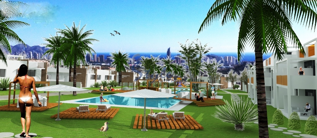 New build apartments in Benidorm