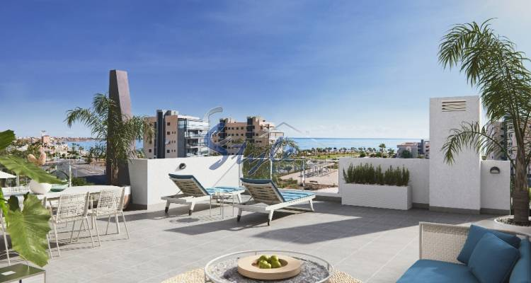 Apartment for sale with sea views in Orihuela Costa, Costa Blanca, Spain