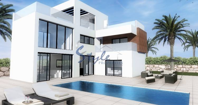 New build villa for sale in Benidorm, Alicante, Costa Blanca, Spain
