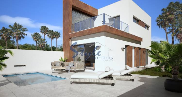 New build for sale with private pool in Alicante,Costa Blanca, Spain