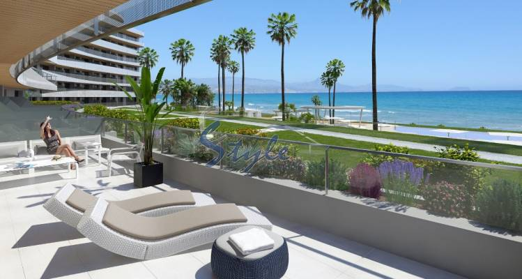 1st line new build for sale in Alicante, Costa Blanca, Spain