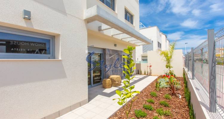 New build townhouse for sale in Torrevieja, Costa Blanca, Spain