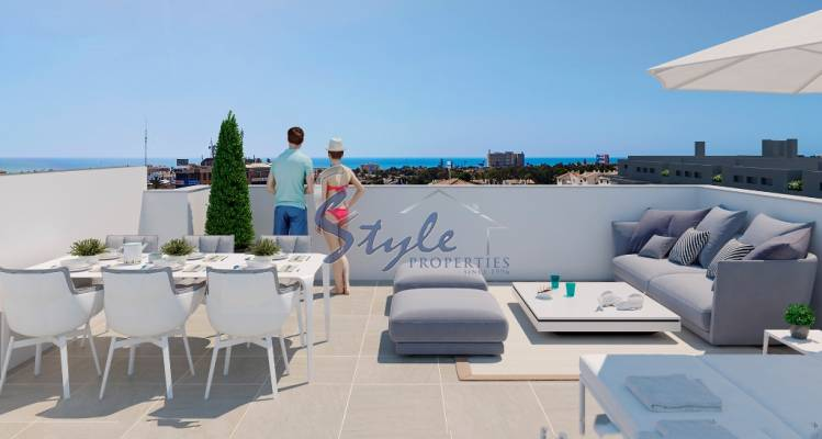 New build penthouse for sale close to sea in La Zenia, Costa Blanca, Spain