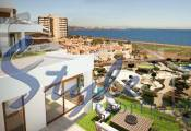 new build for sale on the first line to the sea in Alicante, Spain