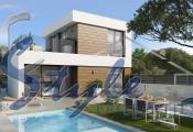 new build villas close to the beach for sale in El Campello, Alicante, Costa Blanca, Spain