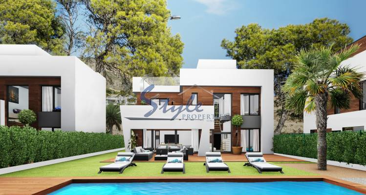 New build villa in Benidorm, Alicante, Costa Blanca,Spain
