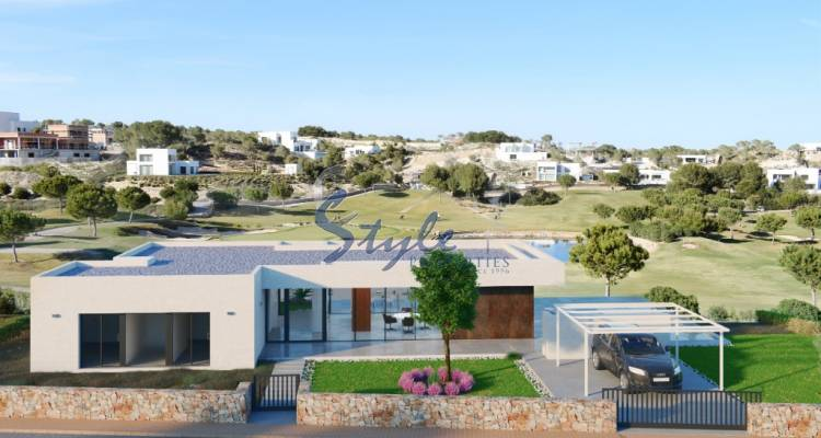 Buy Newly built villa in Costa Blanca close to Las Colinas Golf in Cabo Roig. ID: ON1125_33