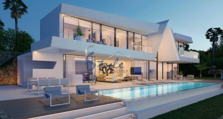 Buy newly built villa in Moraira close to the sea. ID ON1136_44