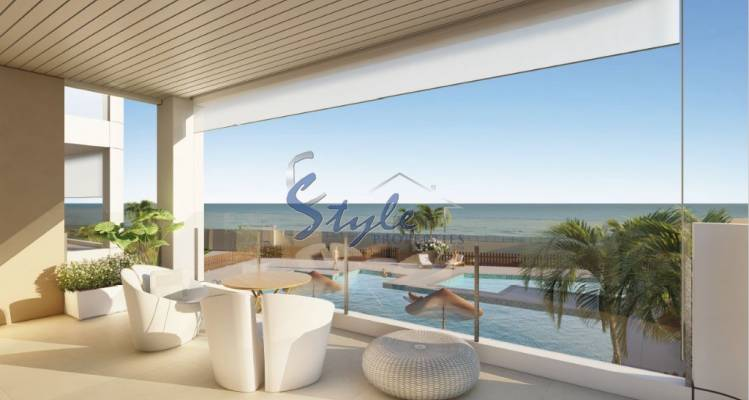 For sale 1st line new build apartment in Costa Blanca ON1037