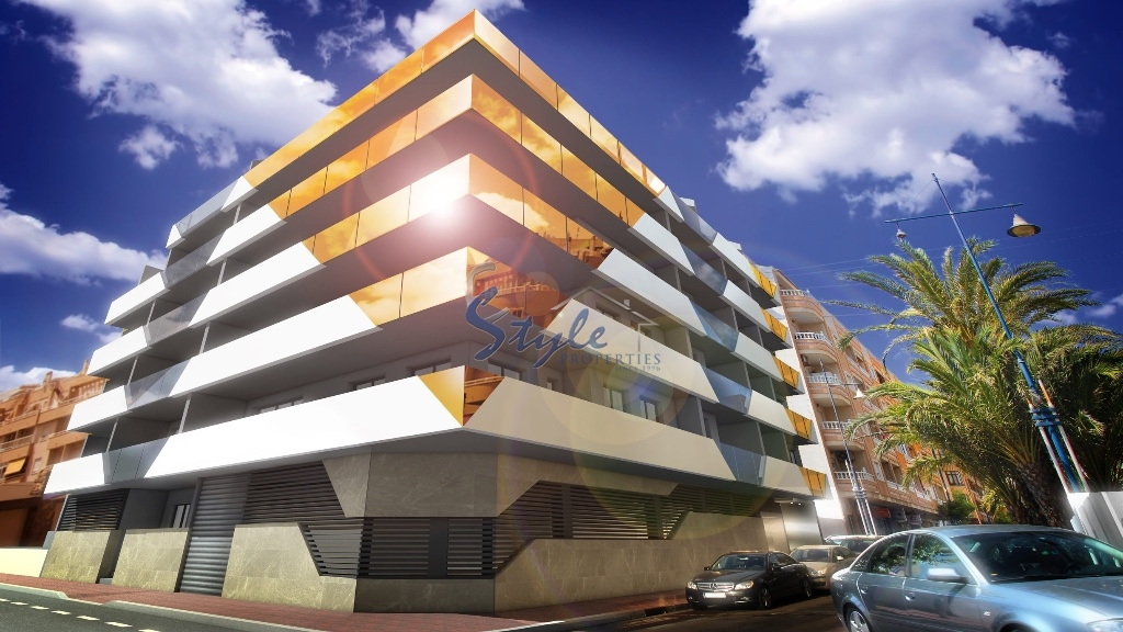 For sale new build apartment in Torrevieja, Costa Blanca, Spain ON933